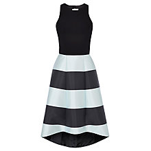 Buy Coast Kate Stripe Dress, Black/Mint Online at johnlewis.com