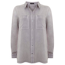 Buy Mint Velvet Mist Shirt, Purple Online at johnlewis.com