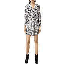 Buy AllSaints Walton Goya Dress, Pale Pink Online at johnlewis.com