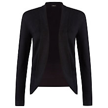 Buy Precis Petite Edge To Edge Cardigan, Black Online at johnlewis.com