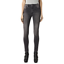 Buy AllSaints Stilt Jeans, Warm Grey Online at johnlewis.com
