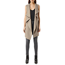 Buy AllSaints Ora Sleeveless Coat Online at johnlewis.com