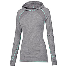 Buy Fat Face Activ88 Seamfree Hoodie, Grey Marl Online at johnlewis.com