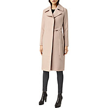 Buy AllSaints Iya Mai Coat, Dusty Pink Online at johnlewis.com