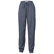 Buy Fat Face Cloud Ditsy Printed Trousers, Navy Online at johnlewis.com
