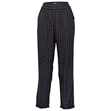Buy Fat Face Juniper Geo Printed Trousers, Phantom Online at johnlewis.com