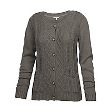 Buy Fat Face Kettering Cable Cardigan Online at johnlewis.com