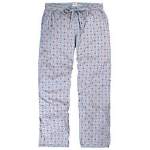 Buy Fat Face Geo Jersey Lounge Pants, Bluebell Online at johnlewis.com