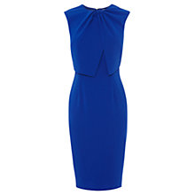 Buy Coast Lerina Knot Crepe Dress, Cobalt Blue Online at johnlewis.com