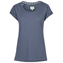 Buy Fat Face Lace Insert Pyjama Top Online at johnlewis.com