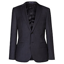 Buy Reiss Marvel Check Wool Slim Fit Suit Jacket, Navy Online at johnlewis.com