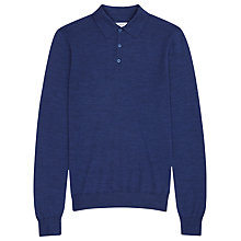 Buy Reiss Mansion Merino Polo Jumper Online at johnlewis.com