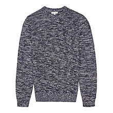 Buy Reiss Turbine Flecked Crew Neck Jumper Online at johnlewis.com