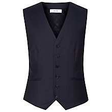 Buy Reiss Harry Wool Modern Fit Waistcoat, Navy Online at johnlewis.com