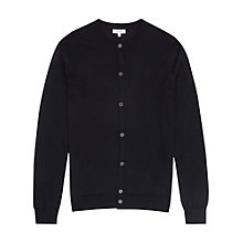 Buy Reiss Labrynth Merino Wool Cardigan Online at johnlewis.com