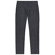 Buy Reiss Grip Mottled Weave Trousers, Midnight Blue Online at johnlewis.com