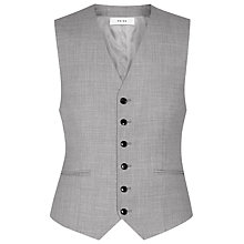 Buy Reiss Harry Wool Modern Fit Waistcoat, Grey Online at johnlewis.com