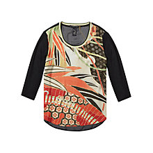 Buy Maison Scotch Photo Printed Top, Multi Online at johnlewis.com