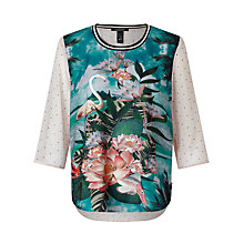 Buy Maison Scotch Tropical Bird Print, Multi Online at johnlewis.com