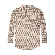 Buy Maison Scotch Floral Dot Shirt, Multi Online at johnlewis.com