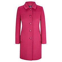 Buy Viyella Wool Blend Coat, Bubblegum Online at johnlewis.com