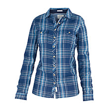 Buy Fat Face Classic Fit Gingham Shirt, Indigo Online at johnlewis.com