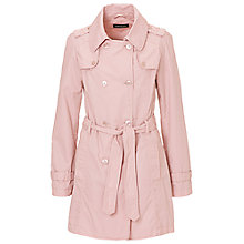 Buy Betty Barclay Cotton Trench Coat, Hushed Violet Online at johnlewis.com