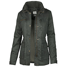 Buy Fat Face Sussex Four Pocket Shell Jacket, Khaki Online at johnlewis.com