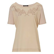 Buy Betty Barclay Embellished Top, Silky Beige Online at johnlewis.com