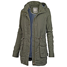 Buy Fat Face Perth Parka, Khaki Online at johnlewis.com