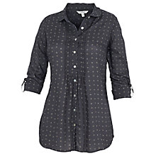 Buy Fat Face Annabelle Juniper Blouse, Phantom Online at johnlewis.com