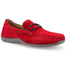 Buy Geox Xense Suede Moccasins Online at johnlewis.com