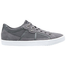 Buy Geox Smart Trainers, Dark Grey Online at johnlewis.com