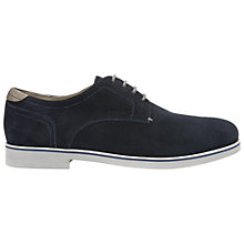 Buy Geox Danio Suede Derby Shoes, Navy Online at johnlewis.com