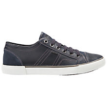 Buy Geox Smart Leather Lace-Up Trainers Online at johnlewis.com