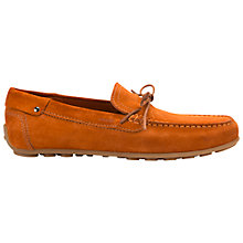 Buy Geox Giona Suede Driving Shoes, Rust Online at johnlewis.com
