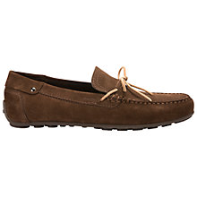 Buy Geox Giona Suede Driving Shoes Online at johnlewis.com