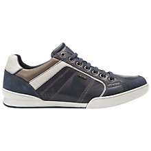 Buy Geox Kristof Leather Trainers Online at johnlewis.com