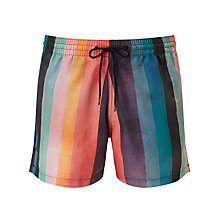 Buy Paul Smith Stripe Swim Shorts, Multi Online at johnlewis.com
