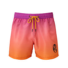 Buy Paul Smith Logo Swim Shorts, Multi Online at johnlewis.com