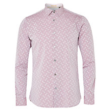 Buy Ted Baker Longhop Spot Jacquard Shirt Online at johnlewis.com