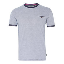 Buy Ted Baker Tempoe Contrast Sleeve Stripe T-Shirt Online at johnlewis.com
