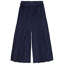 Buy Maison Scotch Pleated Culottes, Navy Online at johnlewis.com