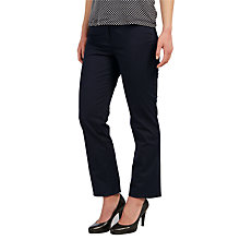 Buy Gerry Weber Romy Straight Leg Jeans, Navy Online at johnlewis.com