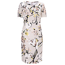 Buy Gerry Weber Printed Dress, Taupe Online at johnlewis.com
