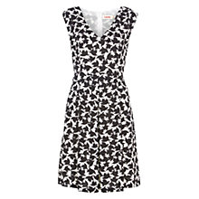 Buy Louche Raquel Bird Print Dress, Black Online at johnlewis.com