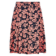 Buy Louche Ritz Orient Pleated Skirt, Navy/Coral Online at johnlewis.com