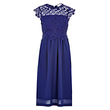 Buy Louche Emmeline Lace Dress, Navy Online at johnlewis.com
