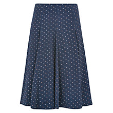 Buy Louche Tata Moon Print Skirt, Navy Online at johnlewis.com