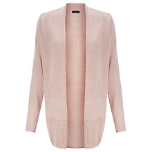 Buy Gerry Weber Openwork Cardigan, Rose Online at johnlewis.com
